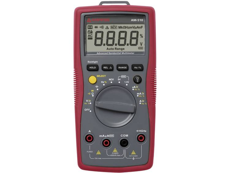 Beha Amprobe AM-510-EUR Multimeter Digitaal CAT III 600 V Weergave (counts): 4000