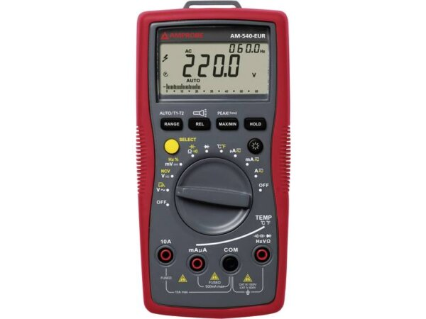 Beha Amprobe AM-540-EUR Multimeter Digitaal CAT III 1000 V