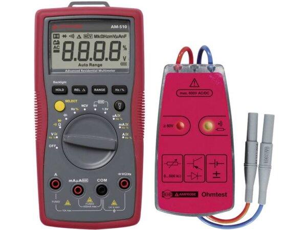 Beha Amprobe Bundle 1 AM-510-EUR Multimeter CAT III 600 V